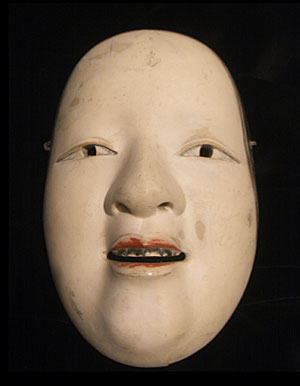 The best Noh masks are carved wood