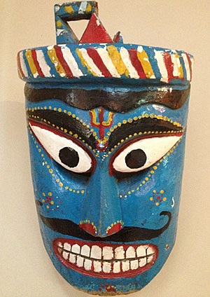How do you find out about Indian masks?