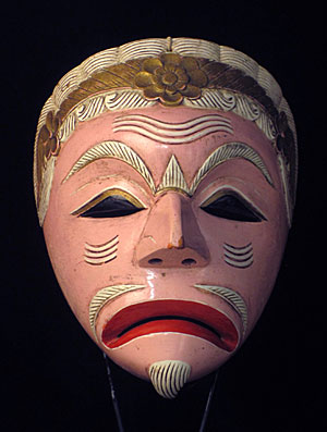 Unusual mask from Java