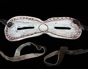 Early Eskimo sun glasses