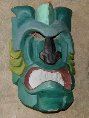 Brunca Devil mask