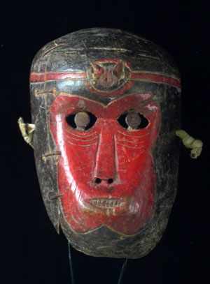 Old monkey mask from SW China