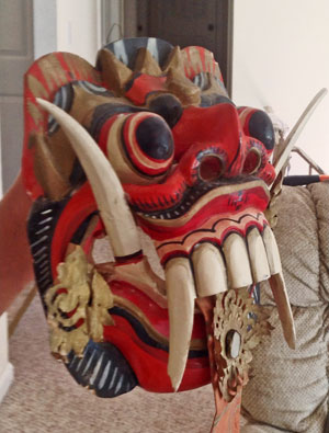 Popular Indonesian mask