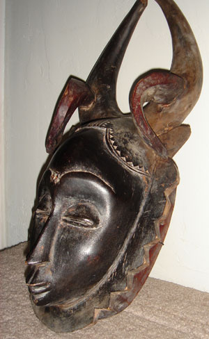 A favorite type of African mask