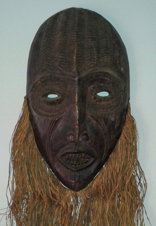 Much larger Congo mask