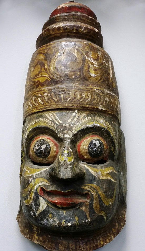 Rare, old Indian mask
