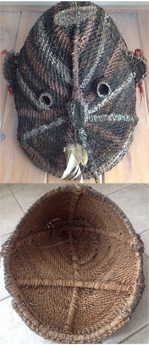 African woven mask or PNG?