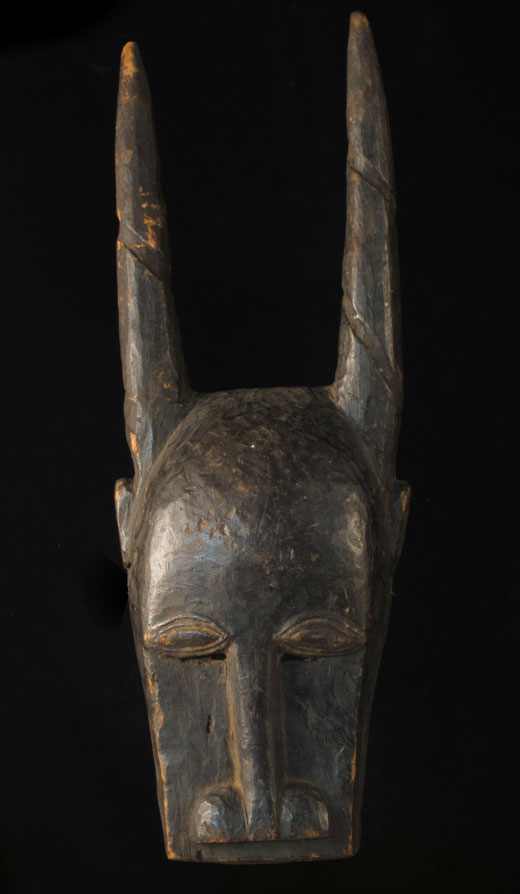 Rough Guro antelope mask