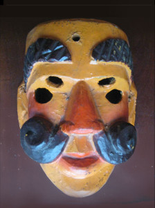 Unusual Guatemalan mask