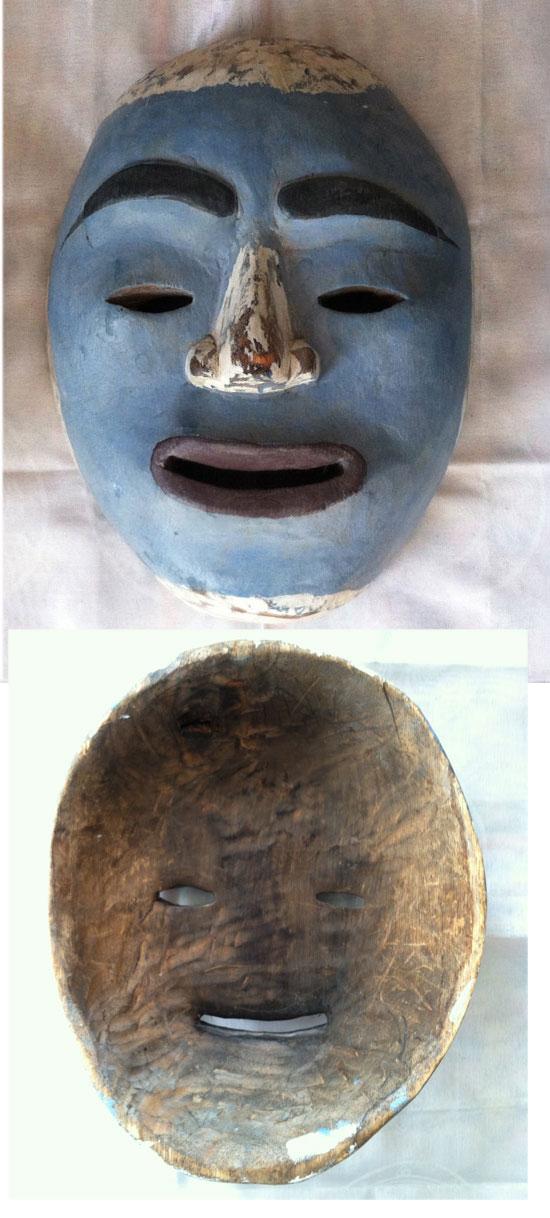 Authentic Tlingit ceremonial mask