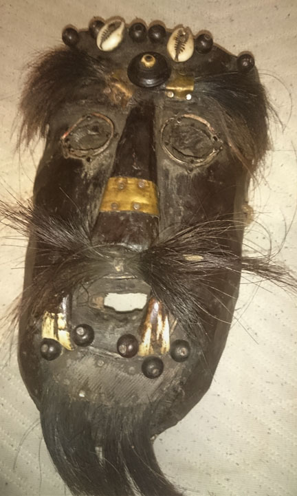 Primitive mask from the Himalayas