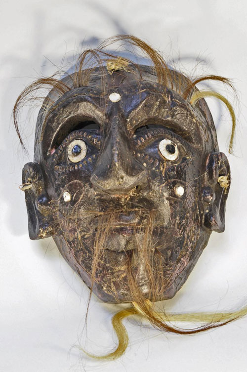 Black-faced mask from Mexico