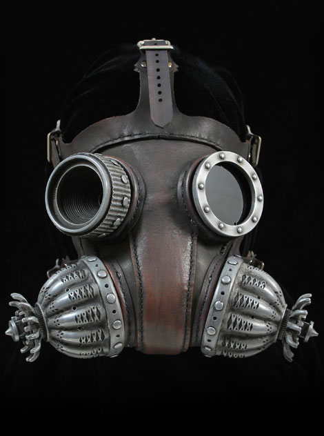 Steampunk mask by Tom Banwell