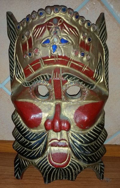 Thai decorative mask