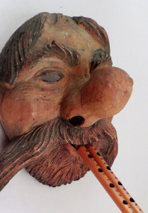 Satyr mask for Fasching