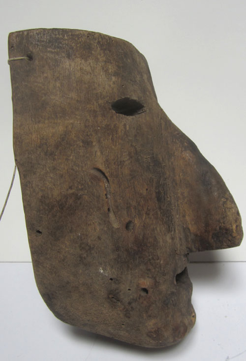 Old Huave mask from Oaxaca