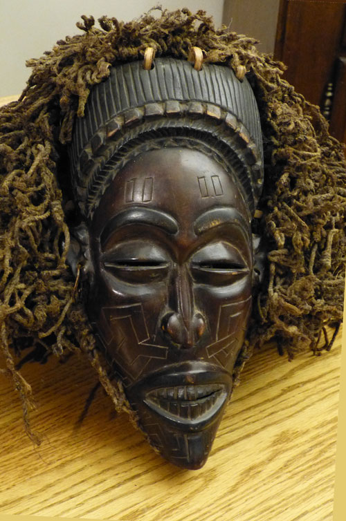 Pwo mask from the Congo