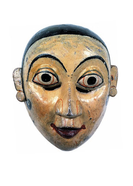 Old Kolam mask from Sri Lanka