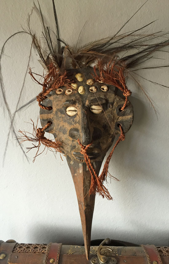 Small PNG mask in nice condition