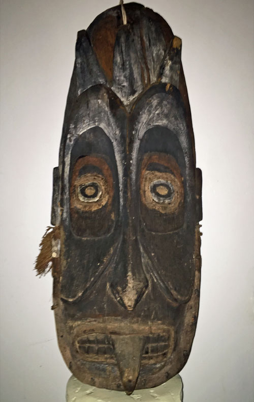 Mask from Sepik River, PNG