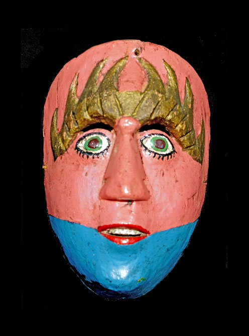 Typical Guatemalan mask