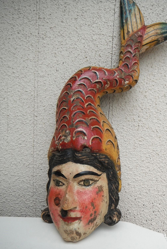 Mexican Mermaid Mask