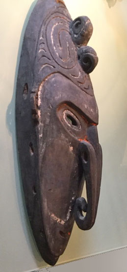 Sepic River area mask