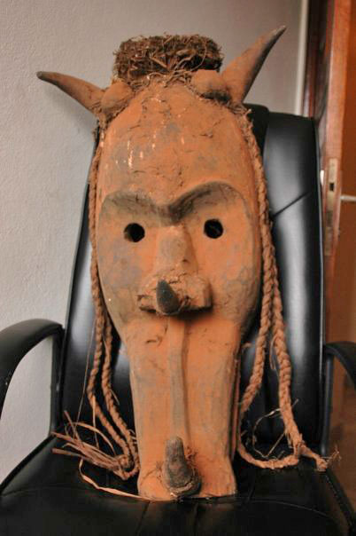 West African mystery mask