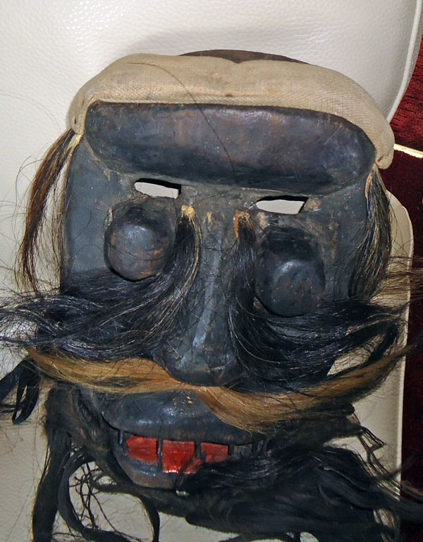 Crazy West African mask
