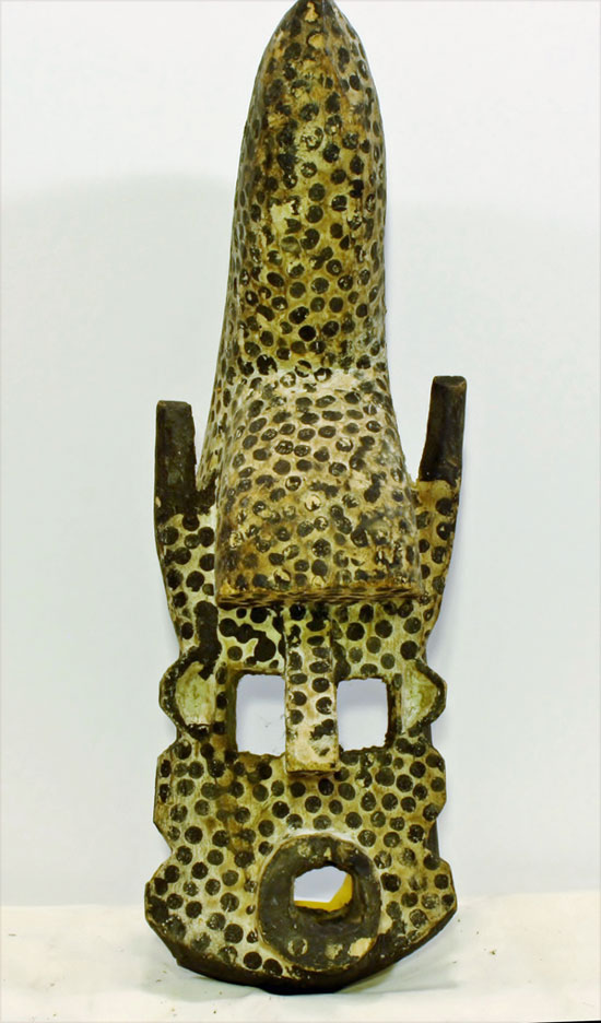 Leopard mask from Mali