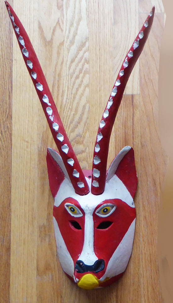 Another wonderful mask from Candelario