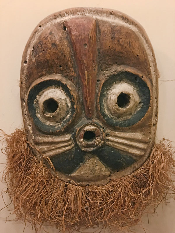 Small mask from Congo