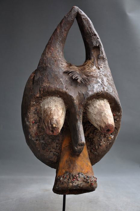 Mumuye or Mambila animal mask