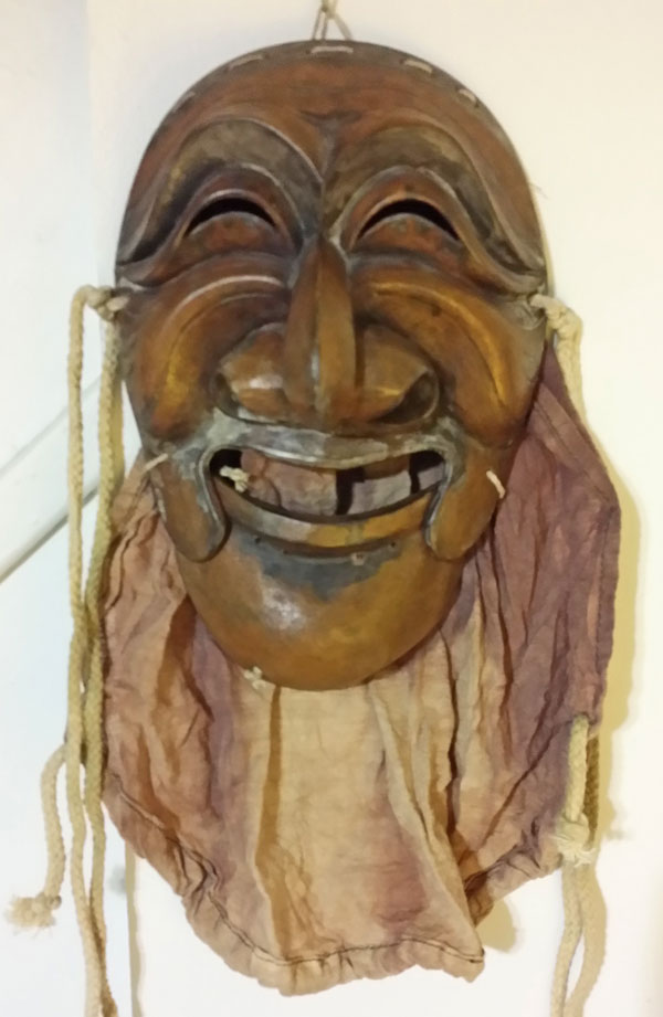 Older Hanhoe mask from Korea
