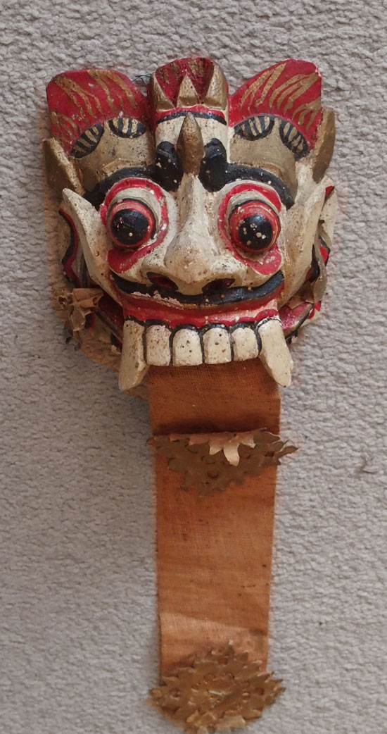 Little Rangda mask