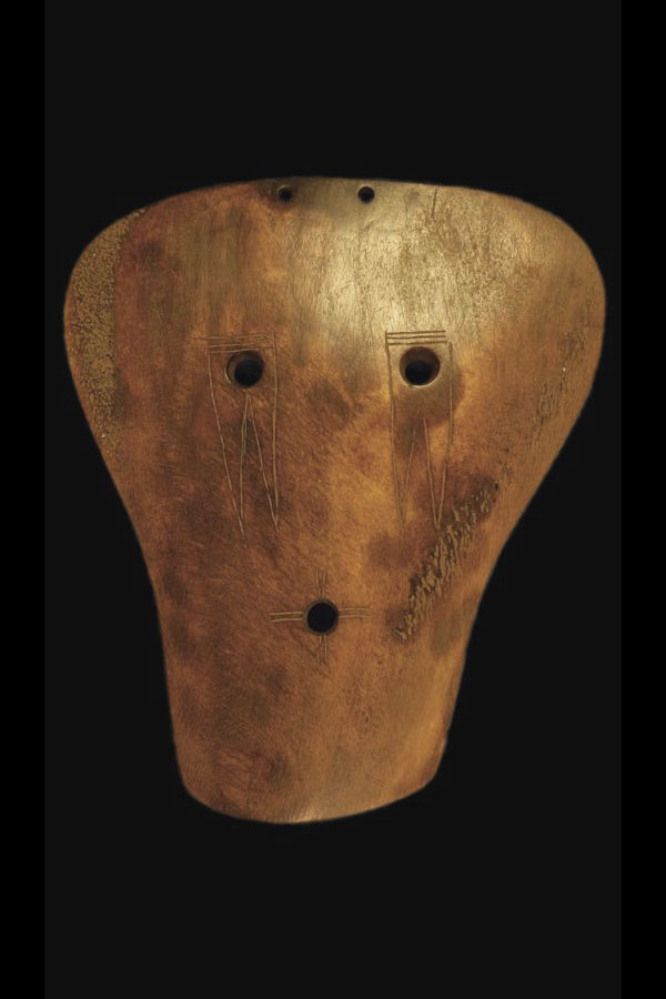 Mississippian bone gorget