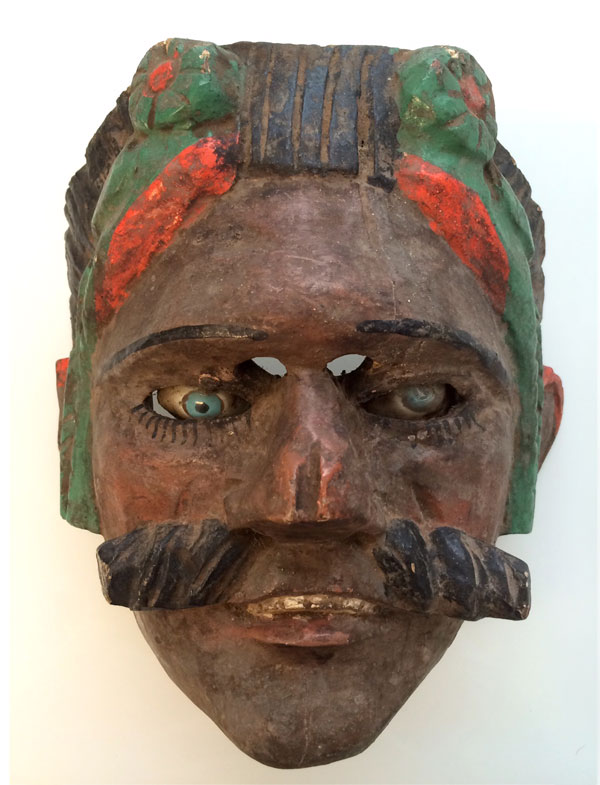 Sad Tecun Uman mask
