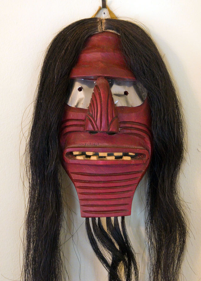 Iroquois False Face Society mask