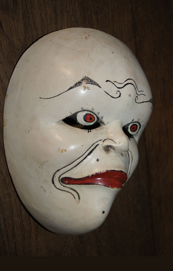 Javanese traditional dance mask