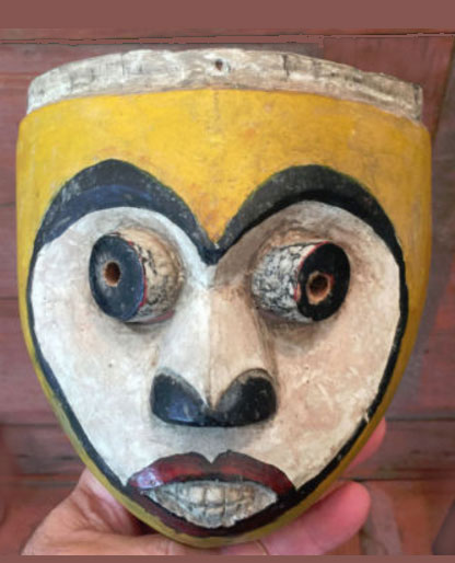 A wild and crazy mask