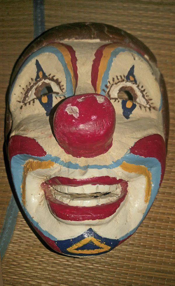 Another Payaso from the mountains of Ecuador