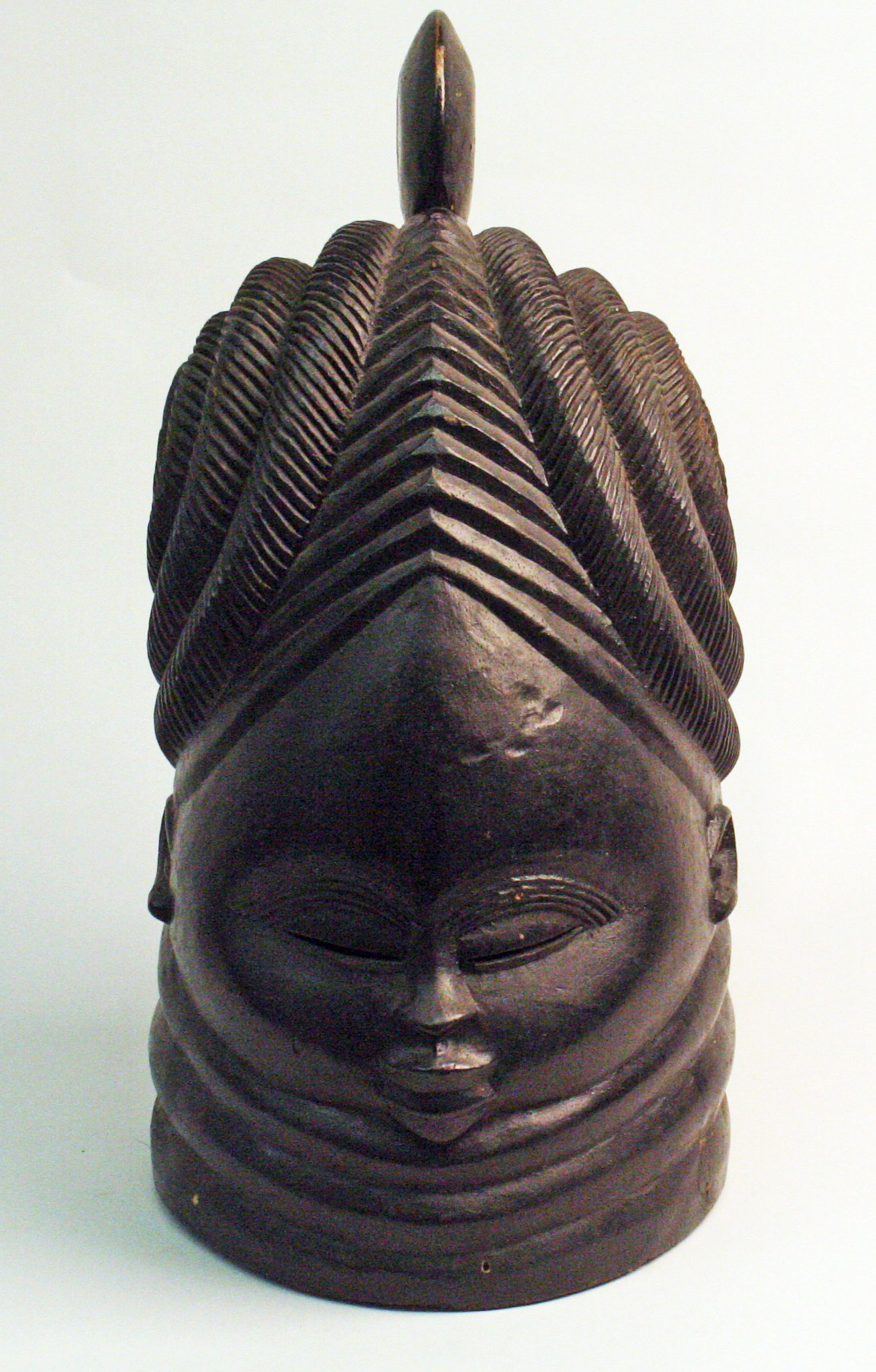 A woman's mask from West Africa