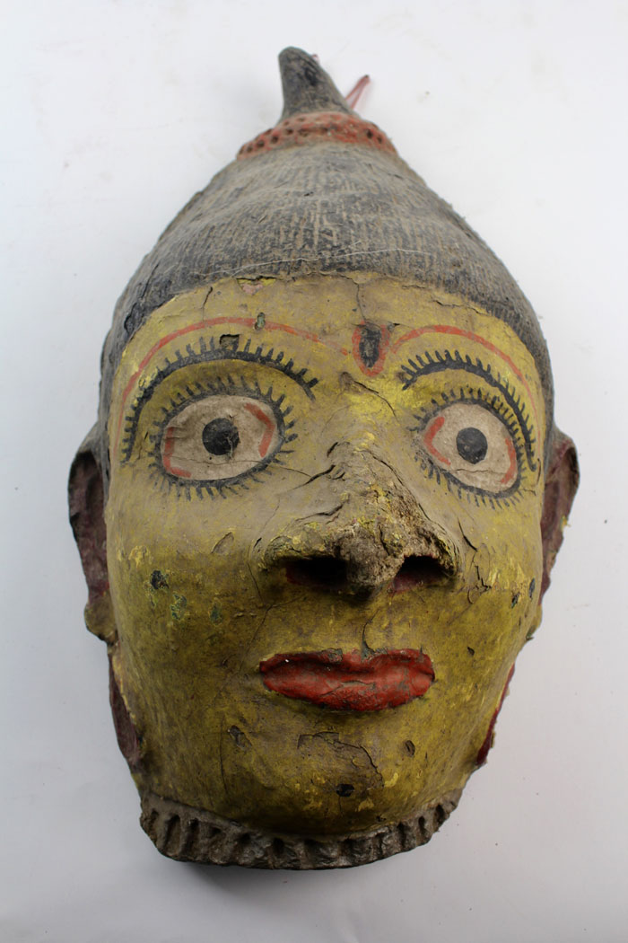 7 authentic masks from India