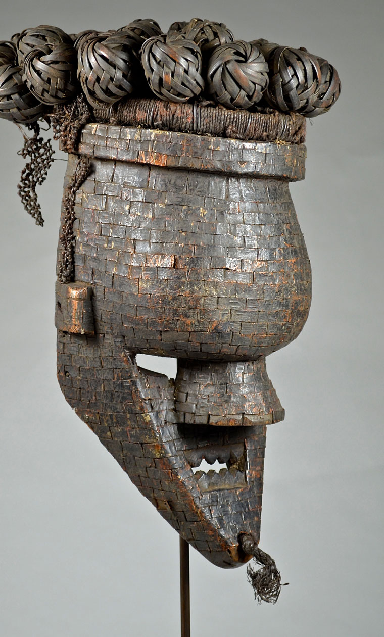 Popular Salampasu mask from the DRC