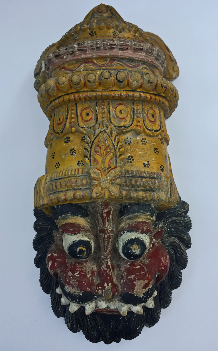 Indian mystery mask