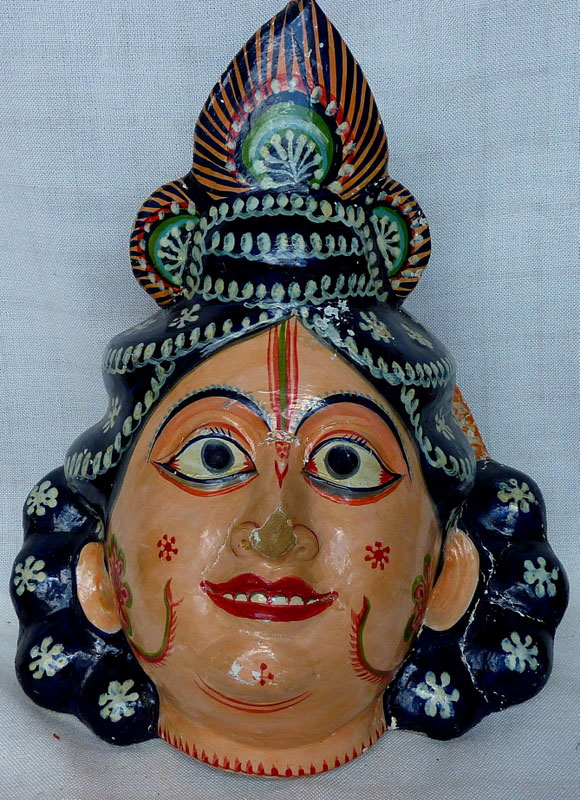 Sri Balaram mask from India