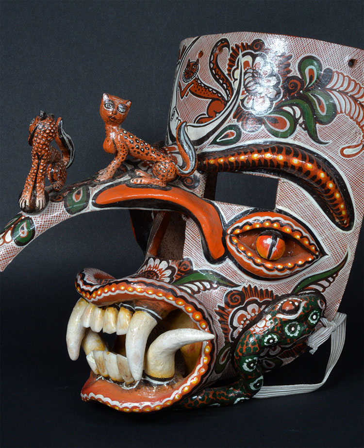 Authentic gallery masks