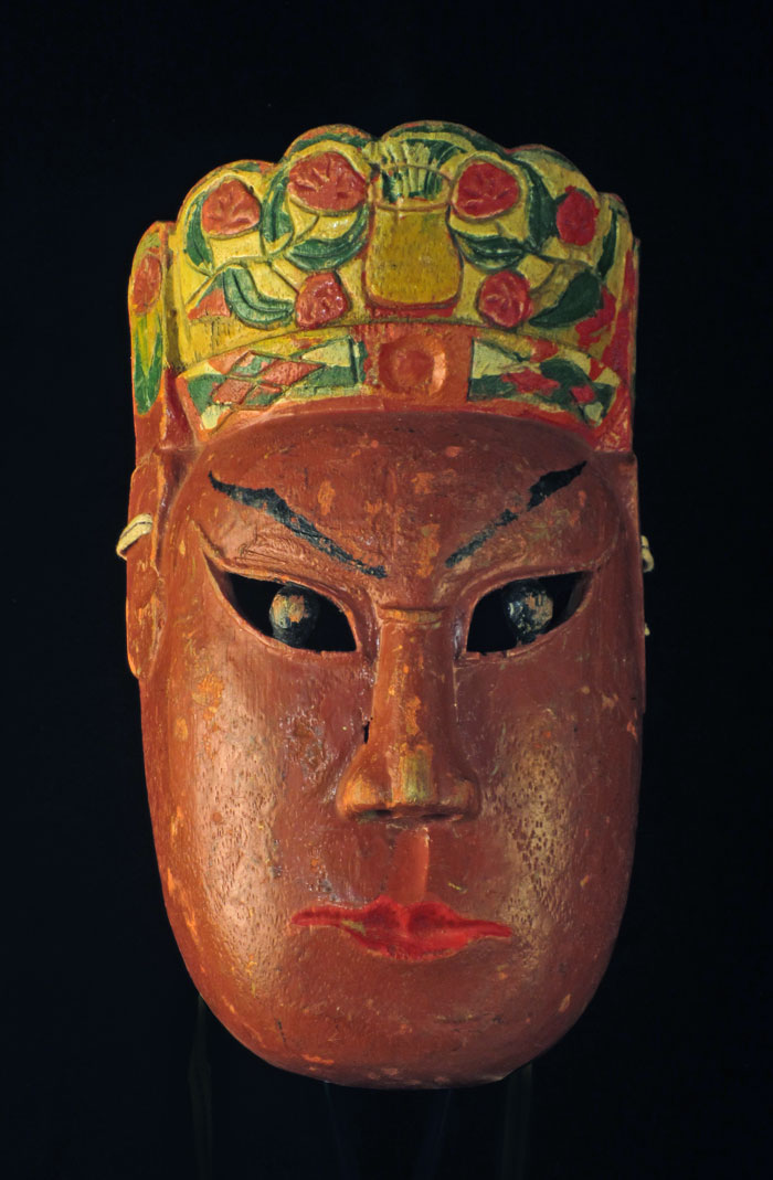 Nuo mask from Guangxi, China