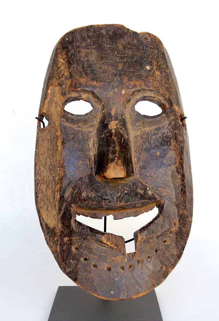 Tribal mask from Nepal Middle Hills