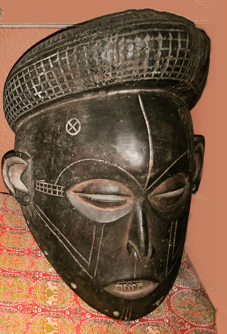 Lele mask from the Congo